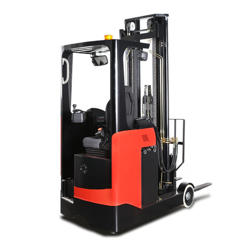 electric sit on reach truck for hire